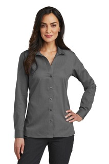 RedHouse®LadiesNailheadNon-IronShirt.-Red House