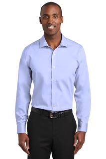 Red House® Slim Fit Pinpoint Oxford Non-Iron Shirt.-Red House
