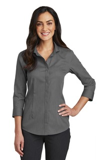 RedHouse®Ladies3/4-SleeveNailheadNon-IronShirt.-Red House