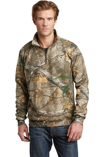 Russell Outdoors Realtree 1/4-Zip Sweatshirt.-