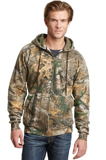 Russell Outdoors Realtree Full-Zip Hooded Sweatshirt.-Russell Outdoor