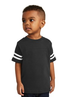 Rabbit Skins Toddler Football Fine Jersey Tee.-