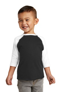 Rabbit Skins Toddler Baseball Fine Jersey Tee.-