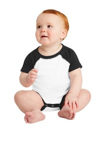 Rabbit Skins Infant Baseball Fine Jersey Bodysuit.-