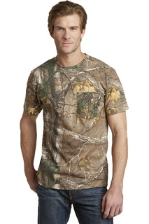 Russell Outdoors™ - Realtree® Explorer 100% Cotton T-Shirt with Pocket.-