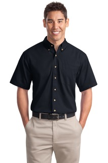 Port Authority® Short Sleeve Twill Shirt.-
