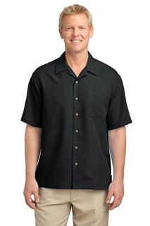 Port Authority® Patterned Easy Care Camp Shirt.