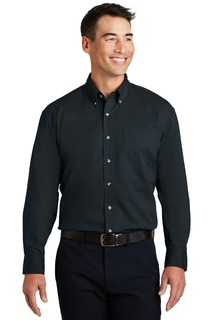 Port Authority Woven Shirts for Hospitality ® Long Sleeve Twill Shirt.-Port Authority