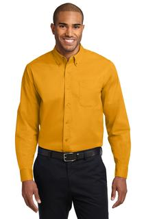 Port Authority Extended Size Long Sleeve Easy Care Shirt.-