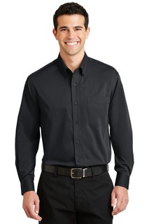 DISCONTINUED Port Authority® Tonal Pattern Easy Care Shirt.-Port Authority