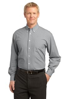 Port Authority® Plaid Pattern Easy Care Shirt.-