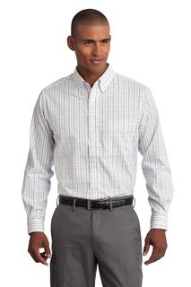 Port Authority Tattersall Easy Care Shirt.-