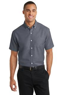 PortAuthority®ShortSleeveSuperProOxfordShirt.-Port Authority