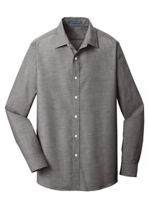 Port Authority ® Slim Fit SuperPro Oxford Shirt.-Port Authority