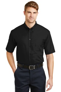 CornerStone® - Short Sleeve SuperPro Twill Shirt.-CornerStone