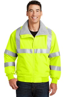 Port Authority® Enhanced Visibility Challenger Jacket with Reflective Taping.-