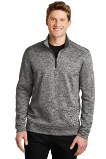 Sport-Tek® PosiCharge® Electric Heather Fleece 1/4-Zip Pullover.-
