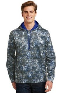 Sport-Tek® Sport-Wick® Mineral Freeze Fleece Hooded Pullover.-