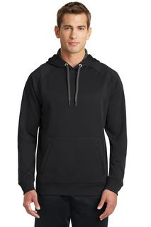 Sport-Tek® Tech Fleece Hooded Sweatshirt.-