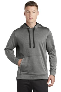 Sport-Tek Hospitality Sweatshirts & Fleece ® PosiCharge ® Sport-Wick ® Heather Fleece Hooded Pullover.-Sport-Tek