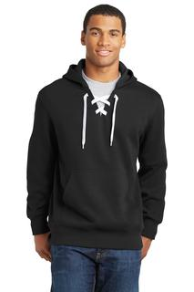 Sport-Tek® Lace Up Pullover Hooded Sweatshirt.-Sport-Tek