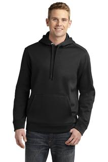 Sport-Tek Repel Fleece Hooded Pullover.-