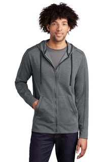 Sport-Tek PosiCharge Tri-Blend Wicking Fleece Full-Zip Hooded Jacket-
