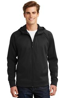 Sport-Tek® Rival Tech Fleece Full-Zip Hooded Jacket.-
