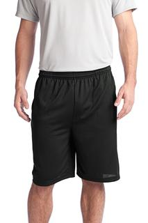 Sport-Tek® PosiCharge® Tough Mesh Pocket Short.-