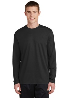 Sport-Tek® PosiCharge® RacerMesh® Long Sleeve Tee.-