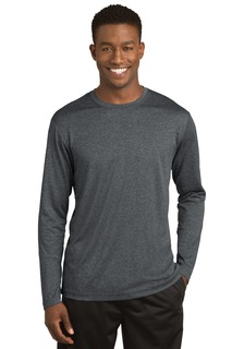 Sport-Tek® Long Sleeve Heather Contender Tee.-Sport-Tek