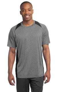 Sport-Tek® Heather Colorblock Contender Tee.
