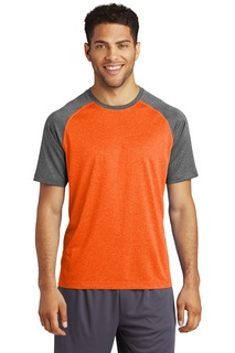 Sport-Tek ® Heather-On-Heather Contender Tee.-Sport-Tek