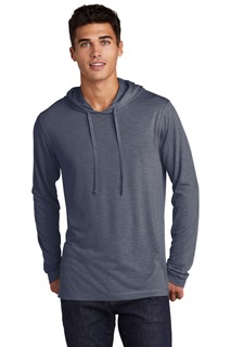 Sport-Tek ® PosiCharge ® Tri-Blend Wicking Long Sleeve Hoodie-Sport-Tek