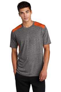 Sport-Tek PosiCharge Tri-Blend Wicking Draft Tee.-