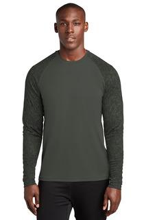 Sport-Tek ® Long Sleeve Digi Camo Tee.-