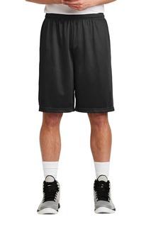Sport-Tek® Long PosiCharge® Classic Mesh Short.-Sport-Tek