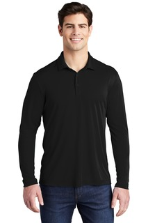 Sport-Tek ® Posi-UV Pro Long Sleeve Polo.-