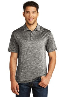 Sport-Tek ® PosiCharge ® Electric Heather Polo.-Sport-Tek