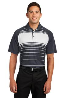 Sport-Tek Dry Zone Sublimated Stripe Polo.-