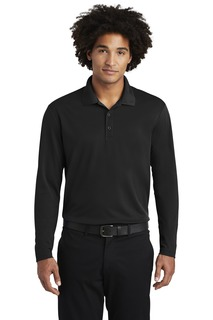 Sport-Tek PosiCharge RacerMesh Long Sleeve Polo.-