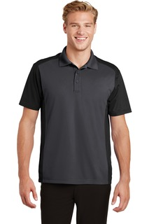 Sport-Tek® Colorblock Micropique Sport-Wick® Polo.