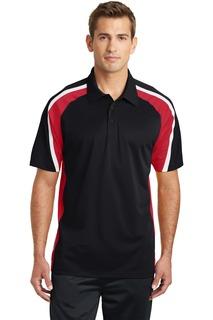 Sport-Tek® Tricolor Micropique Sport-Wick® Polo.-