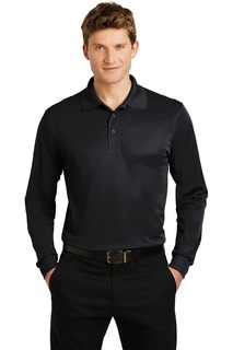 Sport-Tek Long Sleeve Micropique Sport-Wick Polo.-