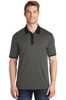 Sport-Tek® Heather Contender Contrast Polo.-