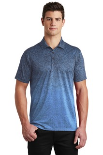 Sport-Tek ® Ombre Heather Polo.-