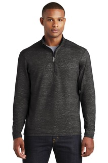 Sport-Tek ® Sport-Wick ® Stretch Reflective Heather 1/2-Zip Pullover.-Sport-Tek