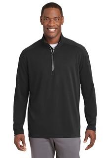 Sport-Tek® Sport-Wick® Textured 1/4-Zip Pullover.-Sport-Tek