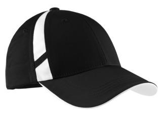 Sport-Tek® Dry Zone® Mesh Inset Cap.-Sport-Tek