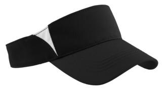 Sport-Tek® Dry Zone® Colorblock Visor.-Sport-Tek